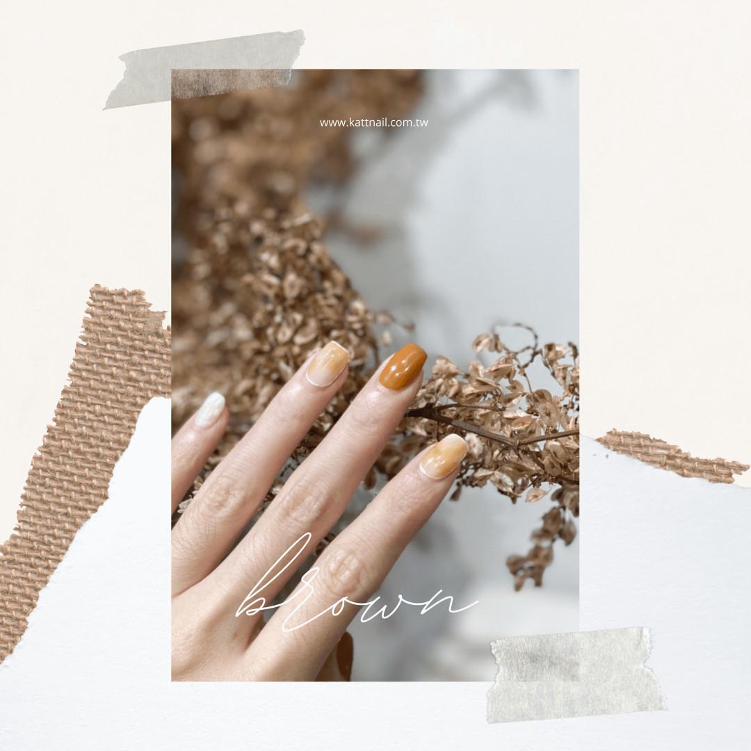 2020秋冬美甲首選,咖啡色系指甲,進來挑選你適合的款式吧