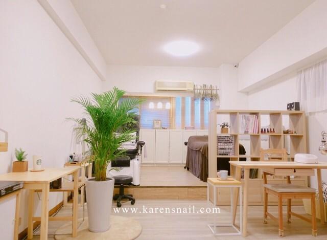 凱婷指甲莊園,創造更舒服的空間給上門的客人